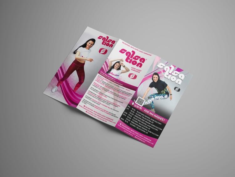 Flyer, DL format for Salsa lessons - Salsation,