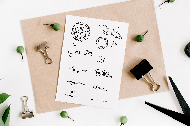Tika Muhelye - logo design concepts